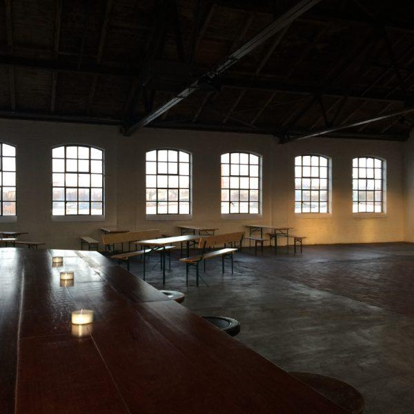 Catering Kontor Location Factory 15 - Tische