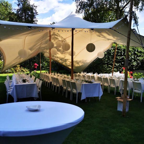 Zelte | Weiße Pagodenzelte 4