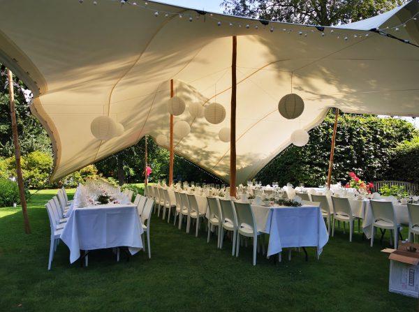 Zelte | Weiße Pagodenzelte 44