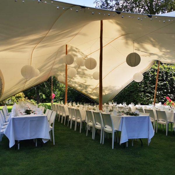 Zelte | Weiße Pagodenzelte 5