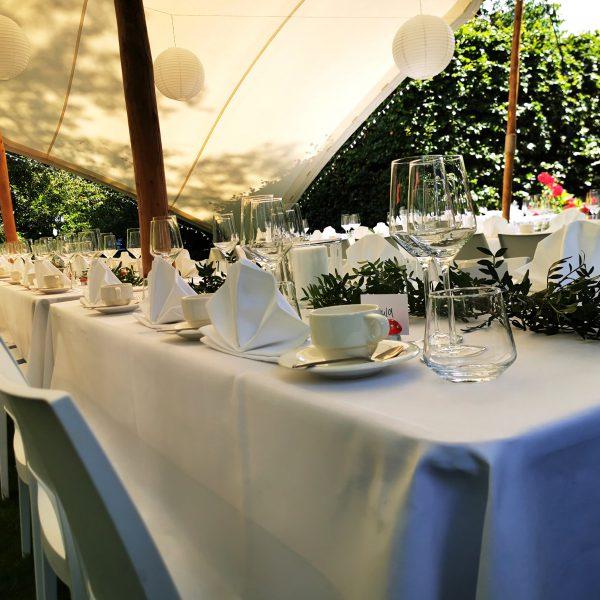 Zelte | Weiße Pagodenzelte 6