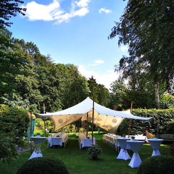 Zelte | Weiße Pagodenzelte 8