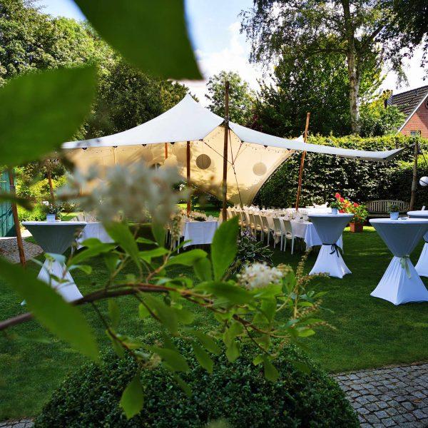 Zelte | Weiße Pagodenzelte 7