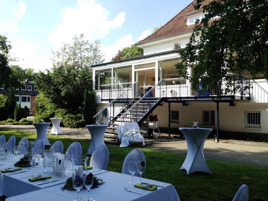 Villa rissen catering kontor for Haus dekorieren hochzeit