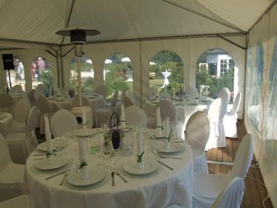 Zelte | Weiße Pagodenzelte 3