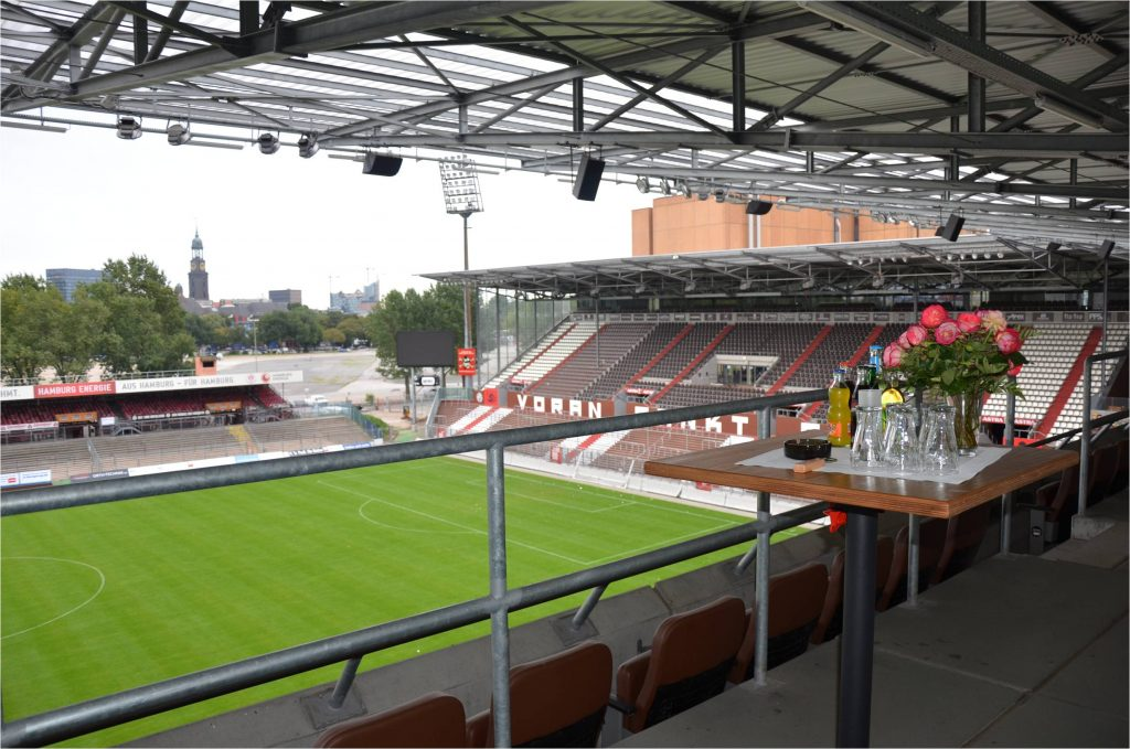 Millerntor-Stadion Welcome Zone 4