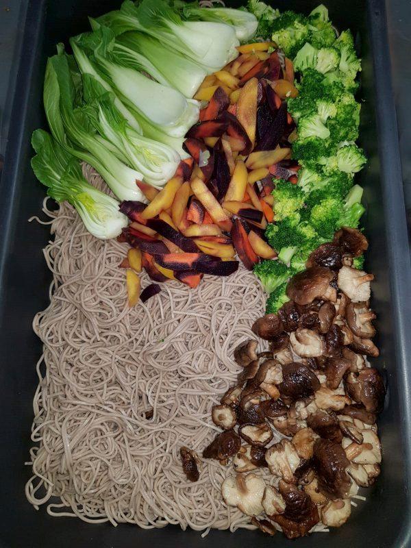 Catering - Gemüse Ramen
